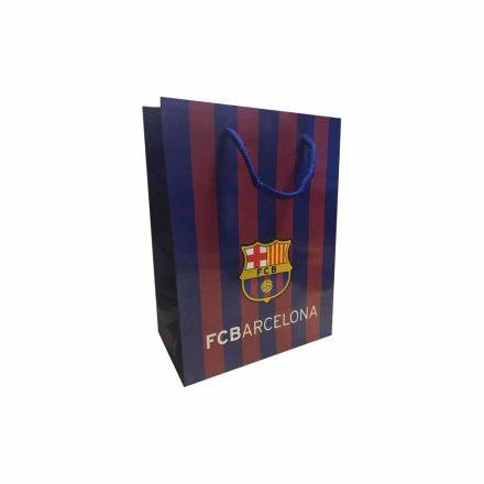 Barcelona ajándékszatyor csíkos M