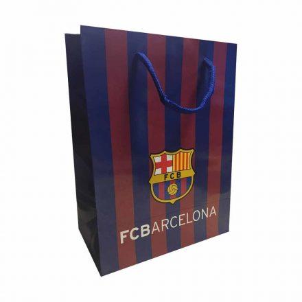 Barcelona ajándékszatyor csíkos L
