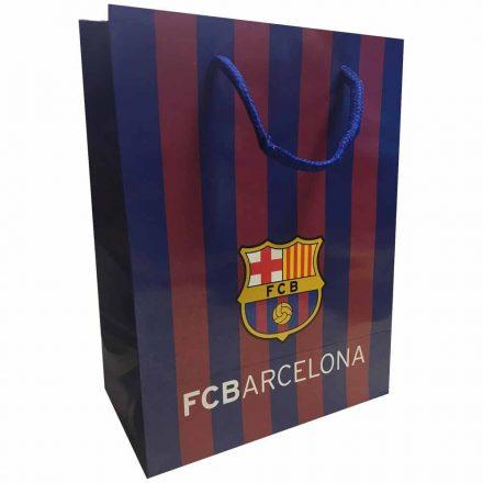 Barcelona ajándékszatyor csíkos XL