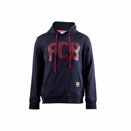 Barcelona pulóver gyerek kapucnis FCB