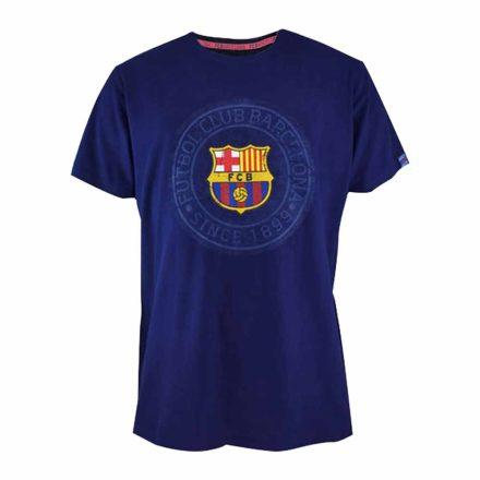 Barcelona póló felnőtt SINCE1899 kék