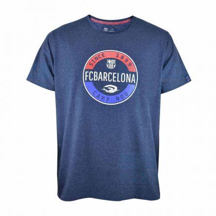Barcelona póló felnőtt STAMP kék