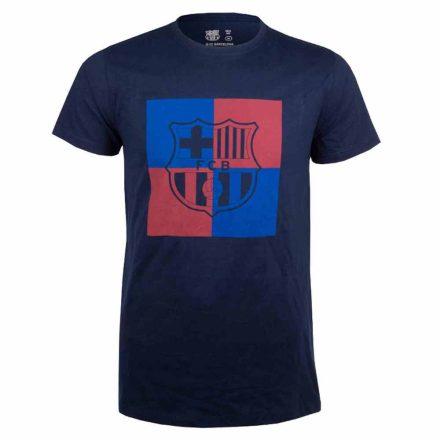 Barcelona póló felnőtt CHESS2 sötétkék