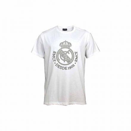 Real Madrid póló gyerek DESDE1902 fehér-ezüst