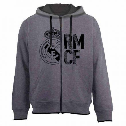 Real Madrid pulóver felnőtt kapucnis-zippes RMCF