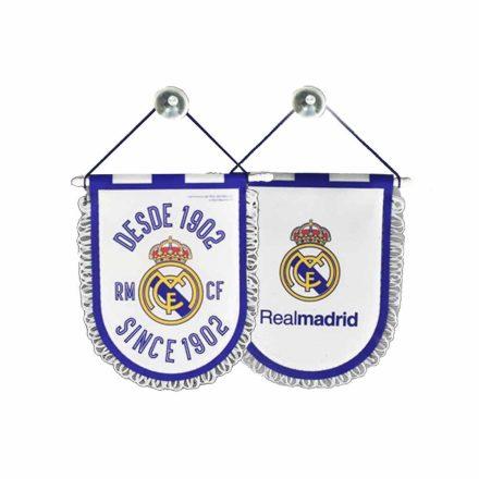 Real Madrid zászló autós kicsi Desde 1902 RM6BDR1