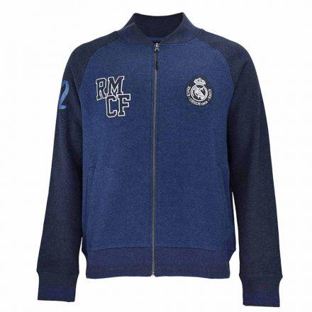 Real Madrid pulóver felnőtt zippes RMCF
