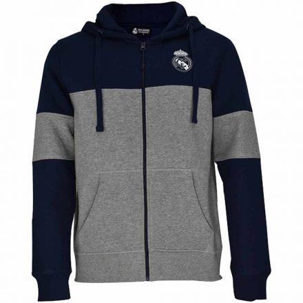 Real Madrid pulóver felnőtt kapucnis-zippes EMBROID