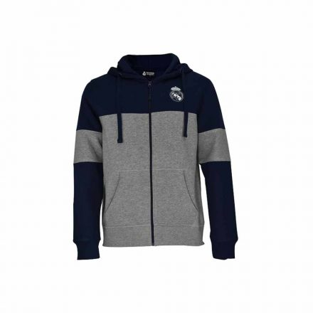 Real Madrid pulóver gyerek kapucnis-zippes EMBROID