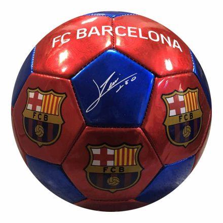"""Barcelona labda aláírásos piros-kék 5"""" B1031"""