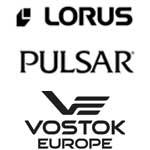 Lorus, Pulsar, Vostok Europe
